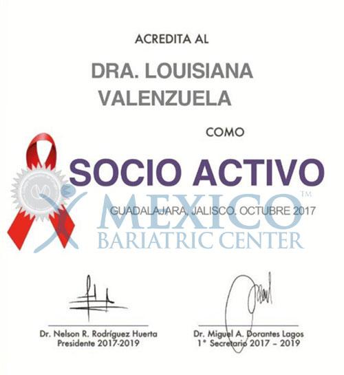 Dr. Louisiana Valenzuela-Certificate-10-17-05