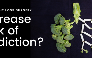 Can Weight loss surgery increase the risks of addiction
