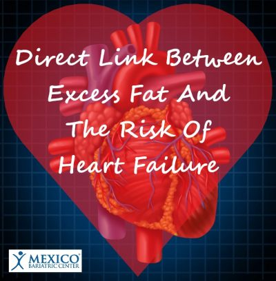 direct link between extra fat and heart failure