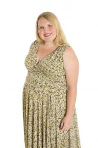 Overweight woman, obesity