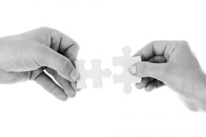 Linking puzzle pieces