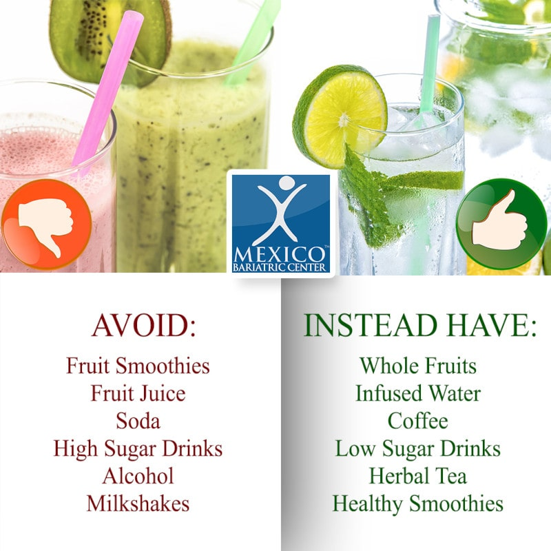 Approved Liquid Drinks After Gastric Sleeve