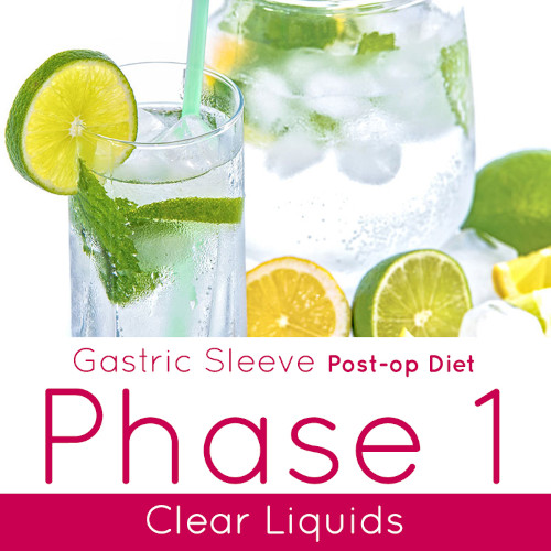 Post-op Diet Phase 1 Clear Liquids