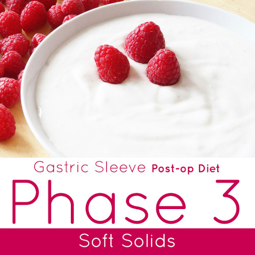 Post-op Diet Phase 3 Soft Solids