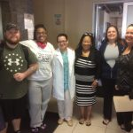 Karla with other patients before bariatric surgery at Mexico Bariatric Center