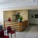 Mi Doctor bariatric hospital in Tijuana, Mexico. Front desk.
