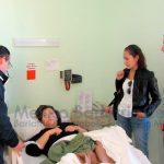 Dr. Diaz Visiting Bariatric Patient