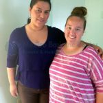 Dr. Valenzuela with patient before bariatric surgery