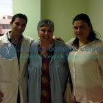 Dr. Carlos Dr. Valenzuela with bariatric patient