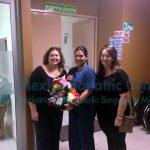 Bariatric Patients Get Flowers Dr. Valenzuela