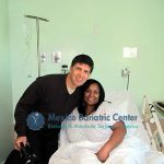 Ron Elli with bariatric patient kimberly before surgery