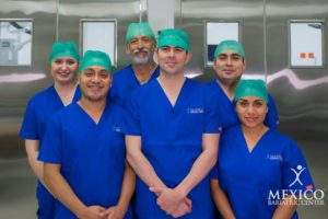Dr. Alejandro Gutierrez surgical staff