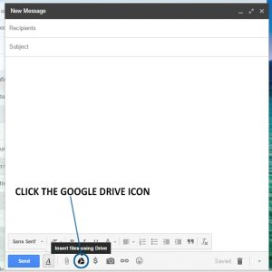 Google Drive Icon in Email, non-scale victory