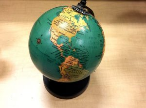 Mexico location on the Globe