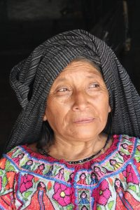 elderly mexican woman