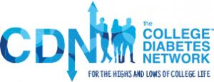 College Diabetes Network logo, diabetes support