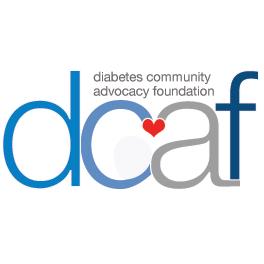 Diabetes Community Advocacy Foundation logo, diabetes support
