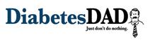 Diabetes Dad logo, diabetes support