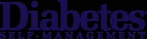 Diabetes Self Management logo, diabetes support