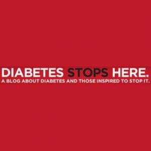 Diabetes Stops Here logo, diabetes support