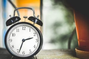 grounding exercises, clock, time