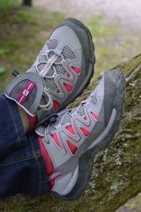 diabetes travel kit, shoes