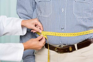 what causes obesity, waist measurement