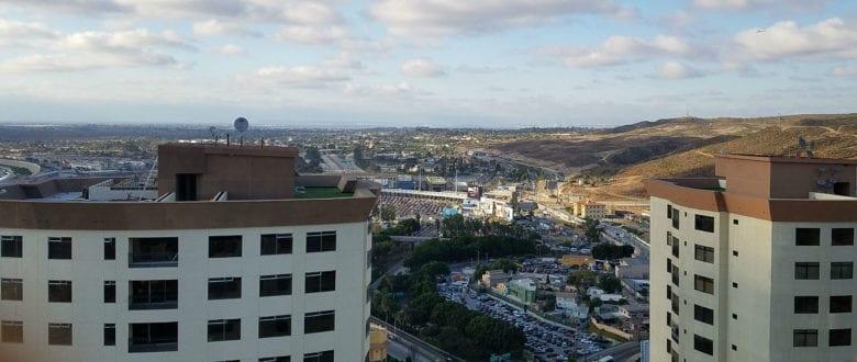 Traveling to Tijuana Mexico without a Companion - Tijuana Towers Border