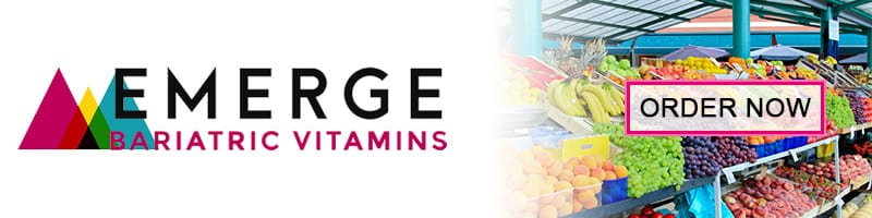 Emerge Bariatric Vitamins - Vitamins After Weight Loss Surgery - Banner