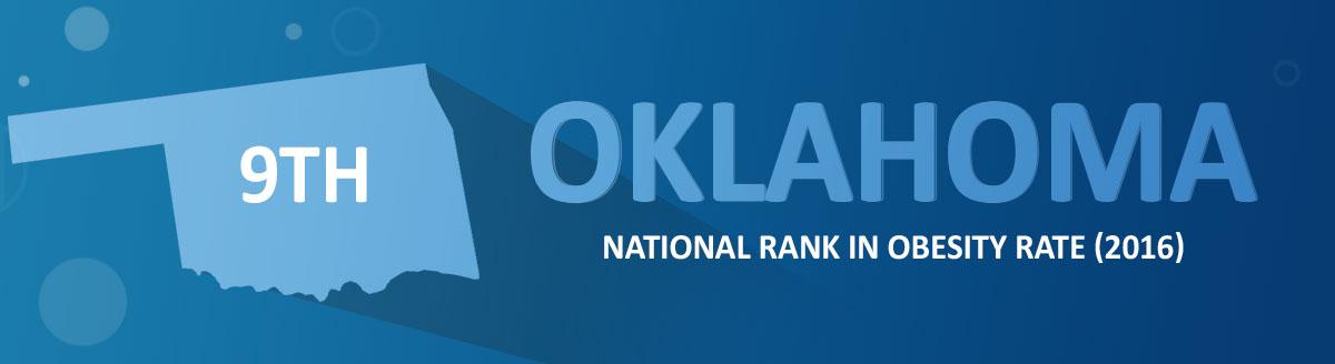 Oklahoma national obesity ranking. 2016