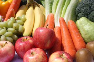 organic food, mixed produce