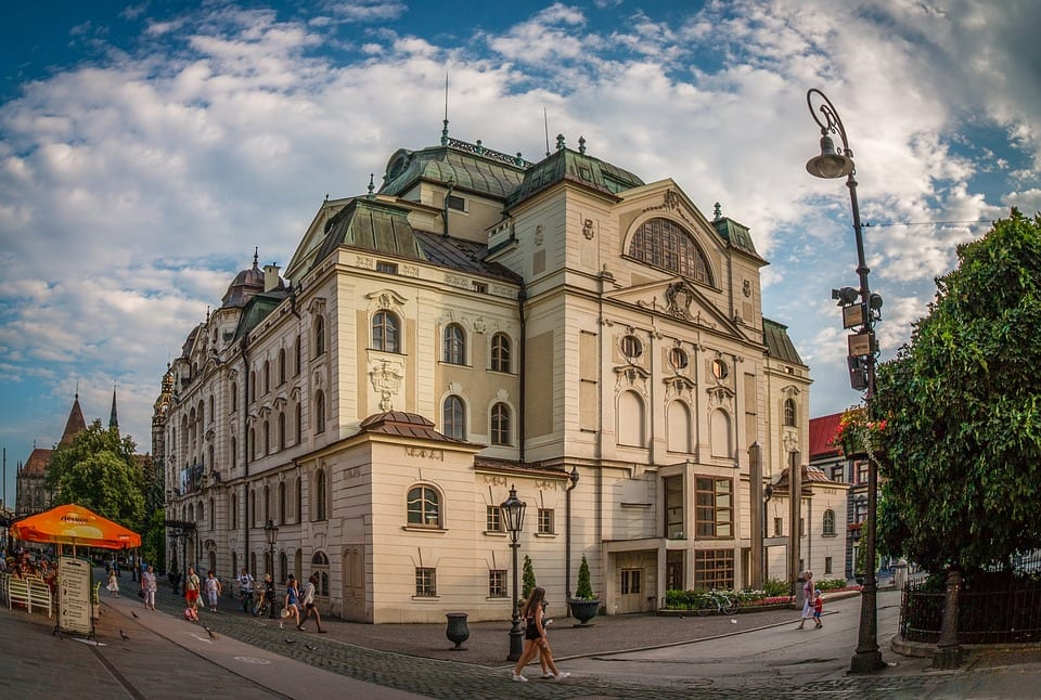 Kosice Centre Košice Slovakia Theatre Slovakia