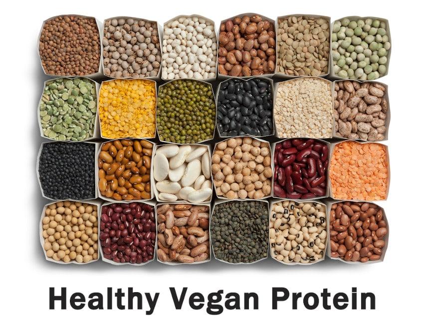 Healthy Vegan Protein Options - 16 Best ProteinHealthy Vegan Protein Options - 16 Best Protein