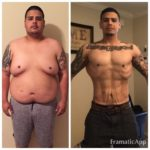 Kevin before and after Bariatric Surgery Successful Weight Loss