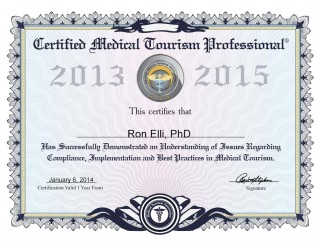 Ron Elli, PhD - MTA Certified