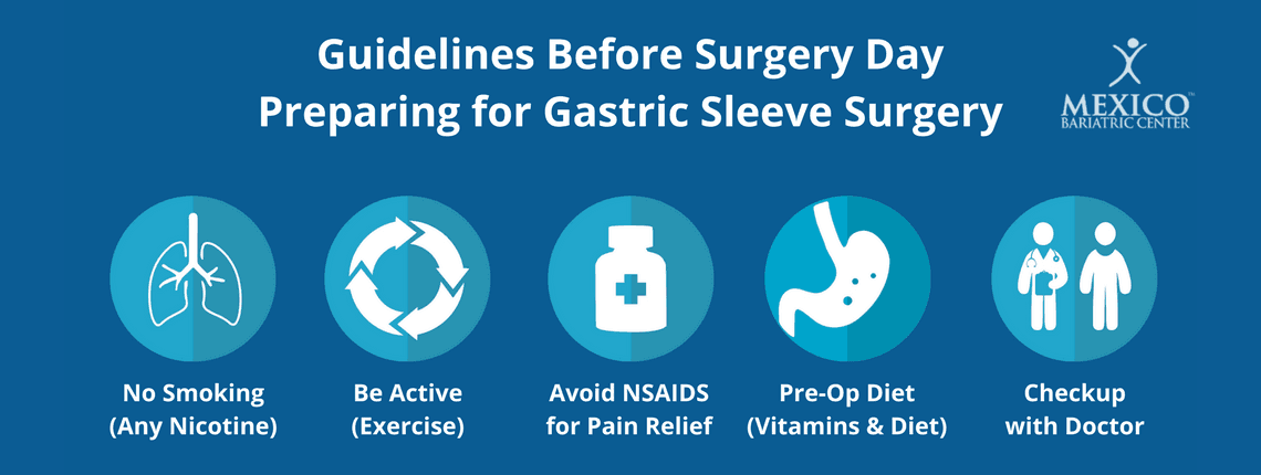 preparing for gastric sleeve surgery