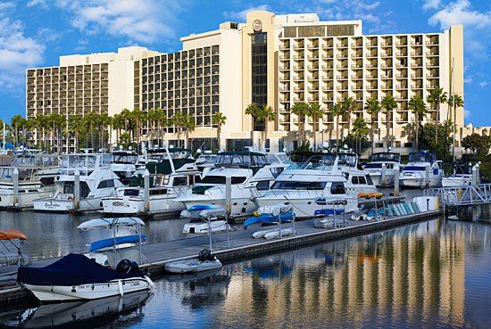 Sheraton Hotel and Marina in San Diego