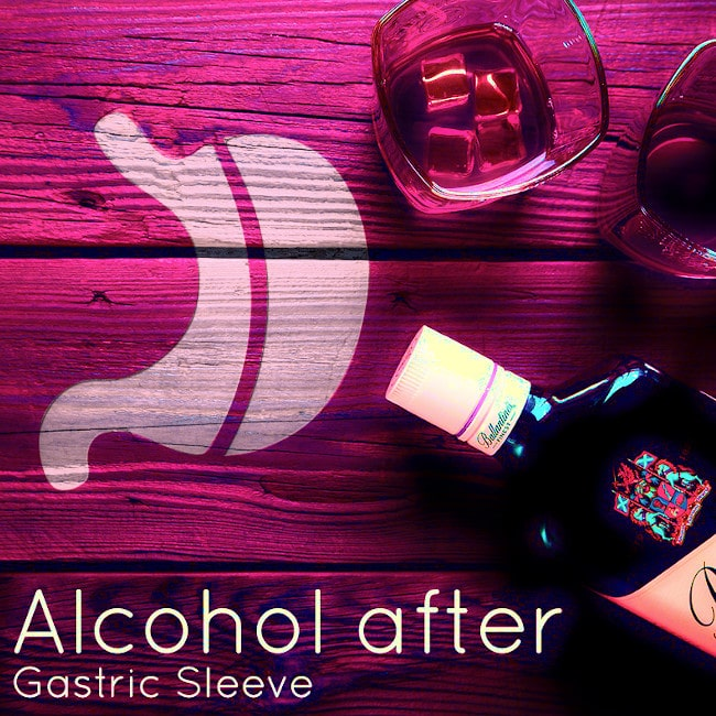 Alcohol guidelines after gastric sleeve weight loss surgery
