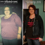 Catina T before after weight loss success - MBC