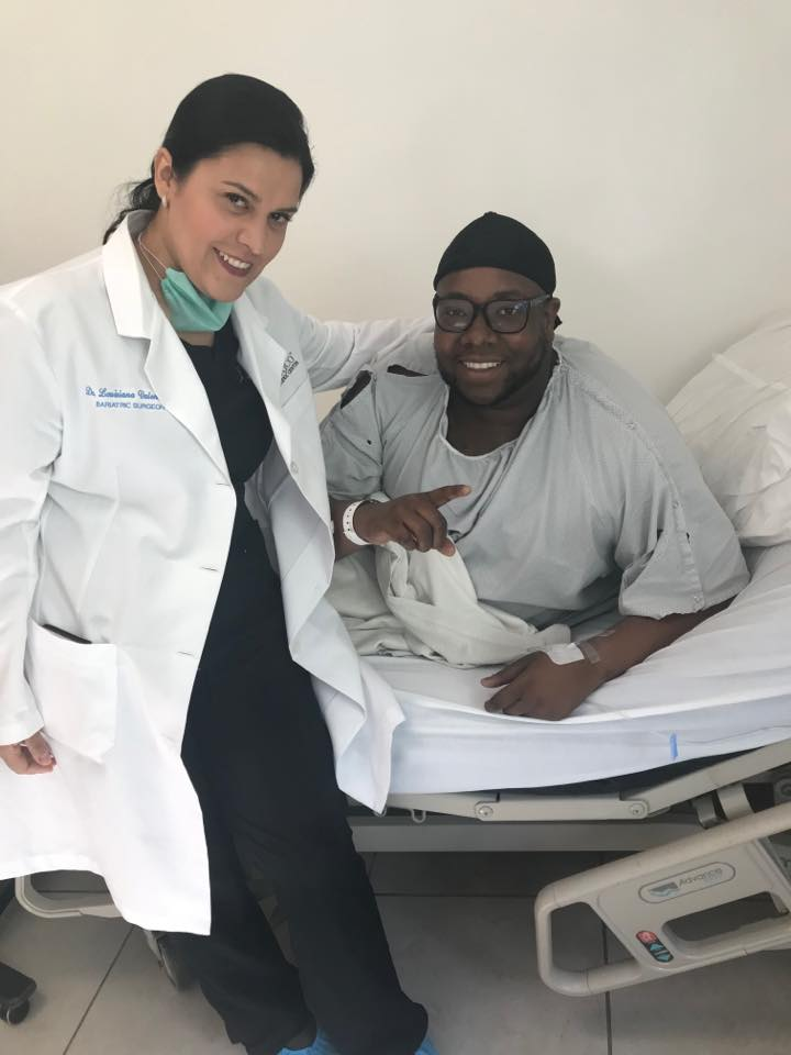 Dr. Louisiana Valenzuela with Patient