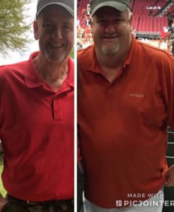 Rusty L before after weight loss success MBC