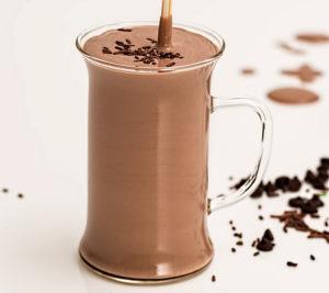 Cocoa Almond Protein Smoothie - Bariatric Smoothies Recipes Shake