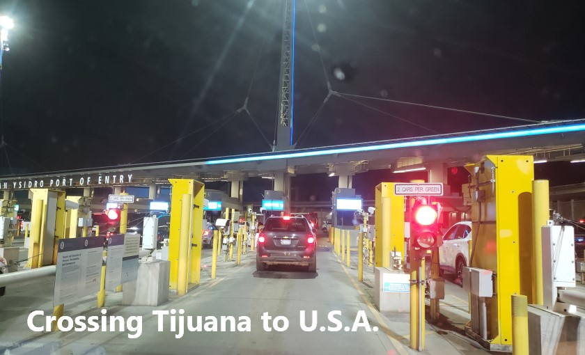 San Ysidro Port of Entry - Crossing the border from Tijuana to San Diego