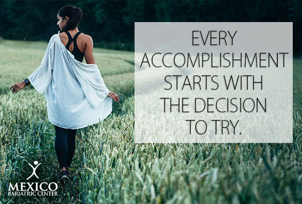 Non-Scale Victory - every accomplishment starts with the decision to try