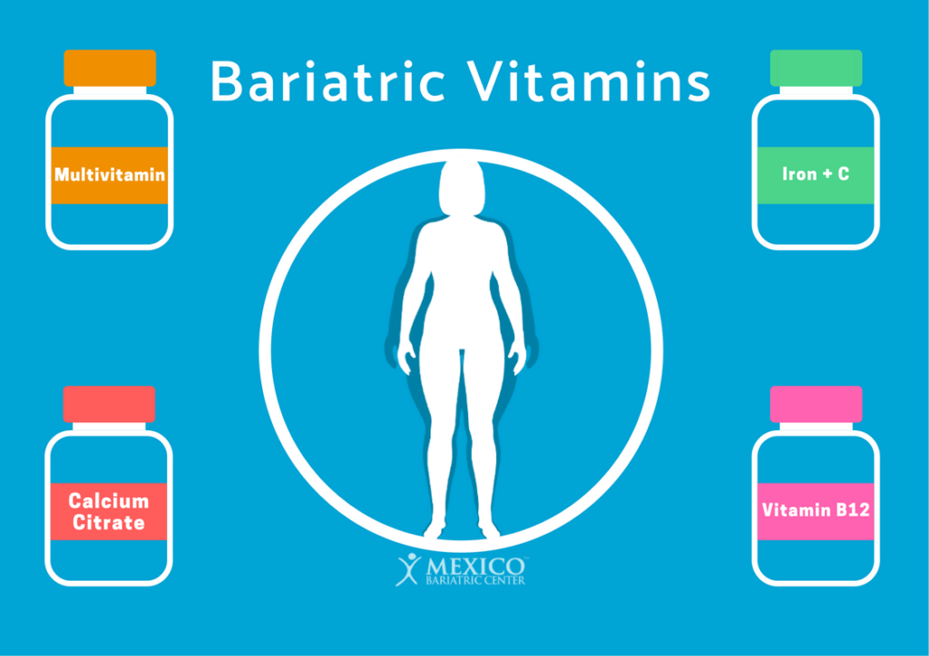 Bariatric Vitamins and Supplements