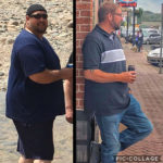 Kevin E C before after picture weight loss success MBC