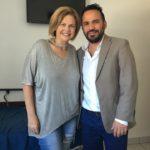 Stephanie W H with Dr. Cabrera MBC
