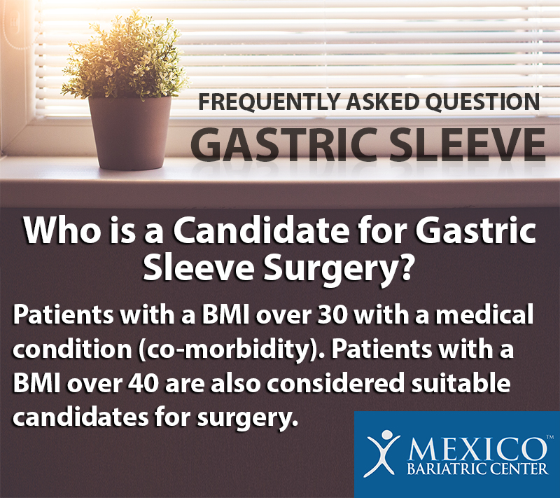 Who is a Candidate for Gastric Sleeve Surgery