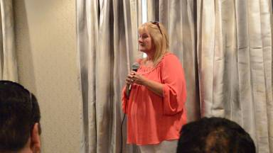 Former MBC patient, Paula, sharing her gastric sleeve story
