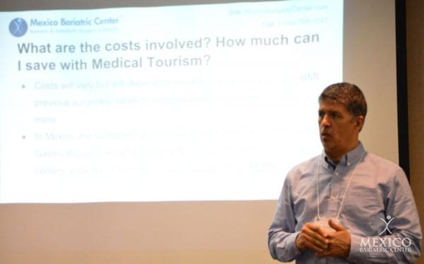 Ron Elli, Ph.D. discussing bariatric surgery costs